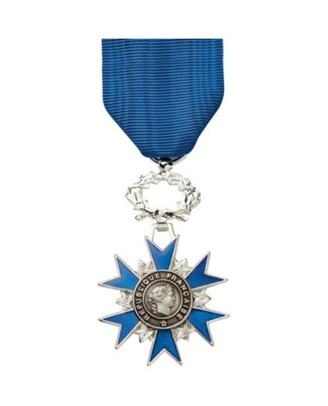 la mgia de lordre m 233 daille chevalier de l ordre national du m 233 rite bronze argent 233