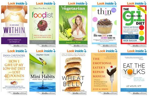 Top 10 Weight Loss Books by Top 10 Kindle Books On Weight Loss See Click 174