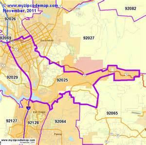 map escondido california zip code map of 92025 demographic profile residential