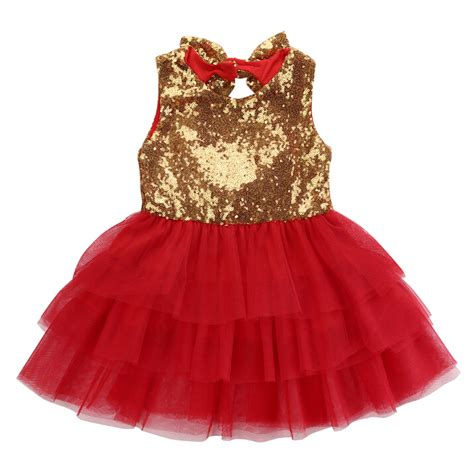 pattern for flower girl tutu dress baby kids flower girl sequins dress love pattern bow tulle