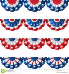 amerikanische dekoration us bunting decoration stock vector image 55816819