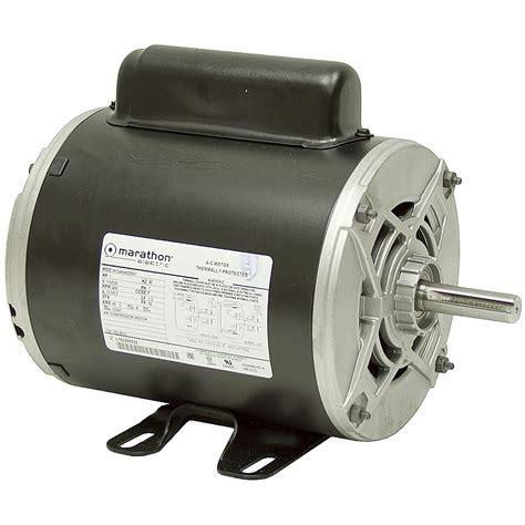 1 hp 3450 rpm 115 230 vac air compressor motor ac motors base mount ac motors electrical