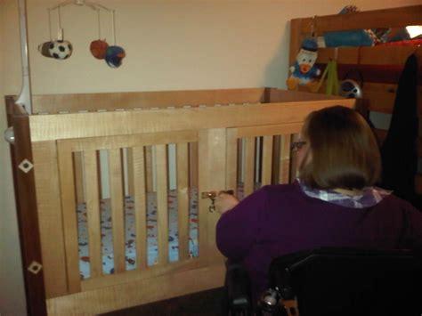 Special Needs Crib by Special Needs Crib By Gary Lumberjocks