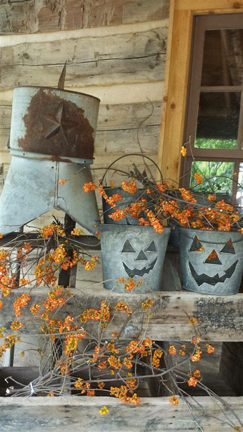 rustic diy outdoor fall decor homemydesign