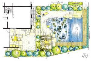 gartengestaltung grundriss gartenplanung planbeispiele grundrisse egli gartenbau ag uster