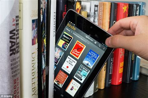 electronic picture books reading on a kindle can cause you to lose the plot daily