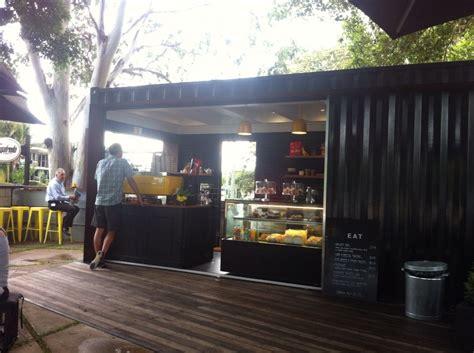 design e café shipping container cafe landscape design noosa
