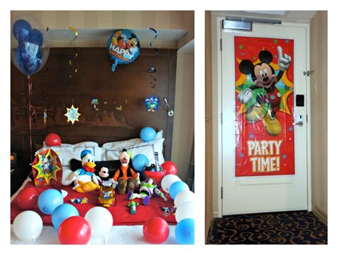 disney in room celebrations a disney in room celebration that won t the bank