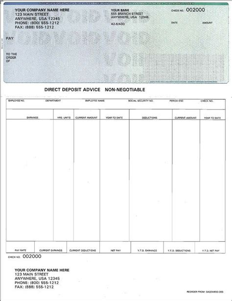 adp pay stub template free cortezcolorado net