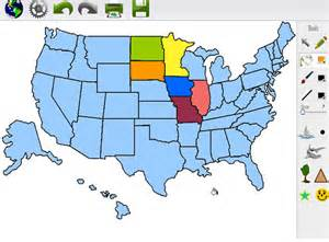 united states map maker map maker 2 0 make your own usa world and nation maps