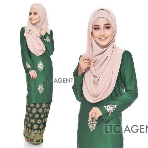 Baju Kahwin Songket Emerald Green baju kurung moden songket dokoh iii all sold out saeeda collections