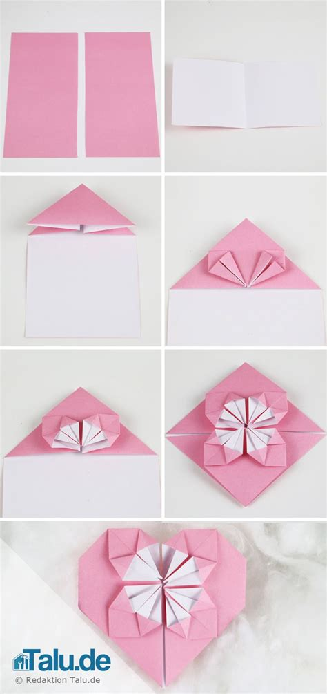 herz origami 25 best ideas about origami herzen auf