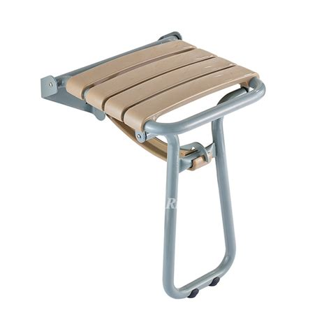 wall mounted chair stainless steel folding shower chair wall mount