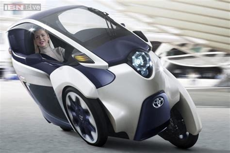 toyota s new iroad is a two seater electric car news18