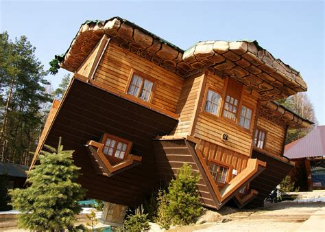 upside down house free desktop wallpapers civil engineering marvelous