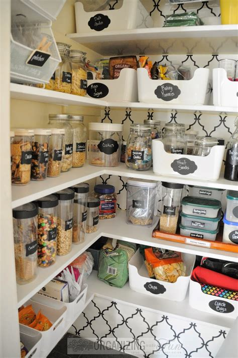 organized pantry top organizing blogger home tours kitchen pantry