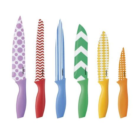 cuisinart colored knives 5 best colored knife set enhance your chef cutting