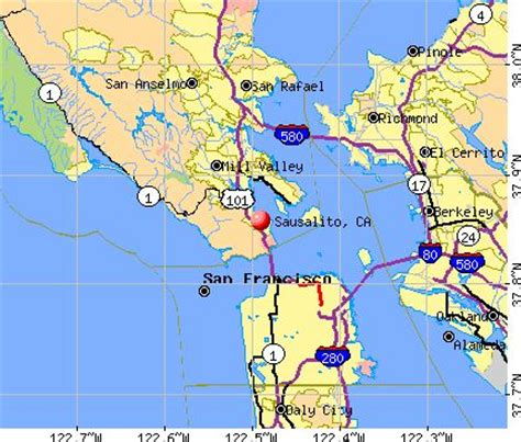 map of sausalito area 107 best images about sausalito california on