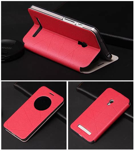 Flip Cover View Asus Zenfone 5 6 for new asus zenfone 5 6 luxury s view window leather with