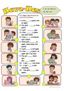 have has worksheet free esl printable worksheets made by