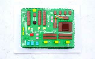 Japan Kitchen Design the motherboard cake will help process an awesome dessert