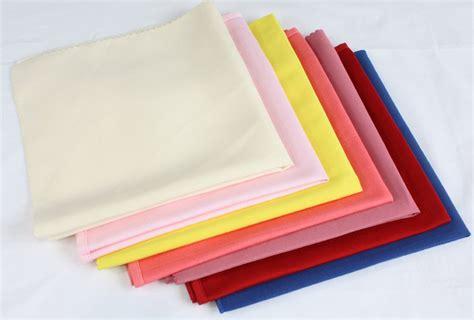 Serbet Katun kain polos kain poliester serbet meja warna warni ukuran disesuaikan tersedia buy product on