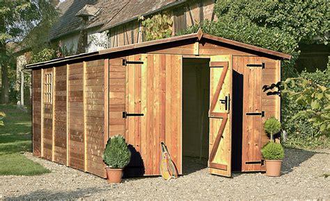Idée De Rangement Garage 4011 by Garage En Bois Trait 233 Albatros Autoclave Abri De Voiture