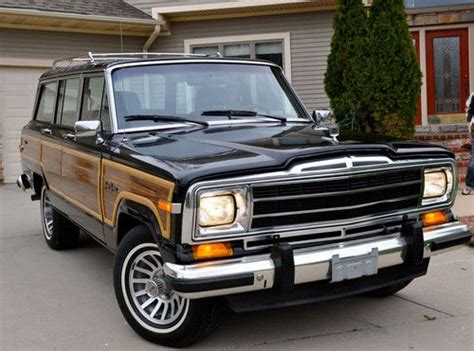 75 Jeep Wagoneer Sell Used 1989 Jeep Grand Wagoneer Beautiful One Owner