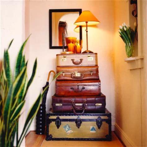 vintage luggage home decor decorating w vintage trunks design indulgences