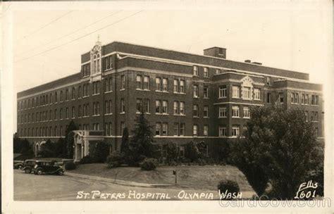 St S Hospital Detox Olympia Wa by St Peters Hospital Olympia Wa Postcard