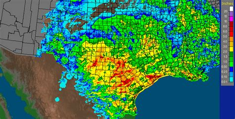 texas rainfall map the original weather update on texas rainfall totals this week