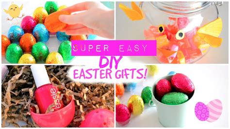 easter gift ideas easy affordable diy easter gifts last minute easter