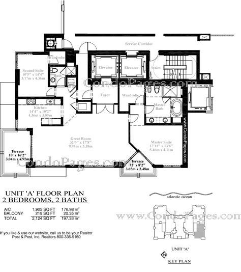 las olas beach club floor plans las olas beach club floorplans quot a quot