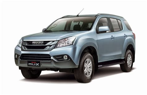 Mux Isuzu Price Isuzu Mux Vs Ford Everest Hairstylegalleries