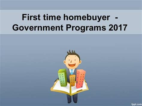 time home buyer government programs for home