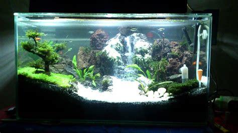 membuat air terjun aquascape youtube aquascape waterfall air terjun by najat 3 rd youtube