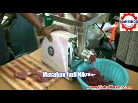 Mesin Giling Daging Taiwan mesin giling daging mini grinder