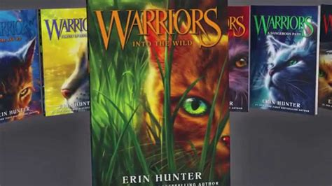 The Warrior Book Report by Warriors Series By Erin Official Book Trailer