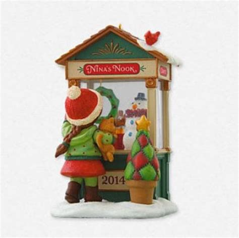 2014 christmas window hallmark keepsake ornament hooked
