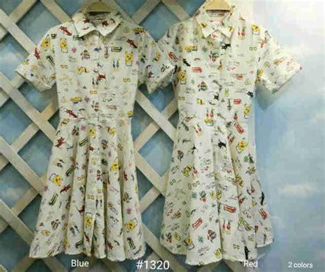 Songketdressblue Ld 98 Dress Wanita dress kartun i l o v e f a s h i o n s s