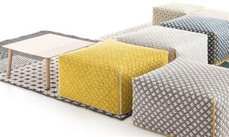 yellow pattern ottoman paint yellow pouf ottoman for your editeestrela design
