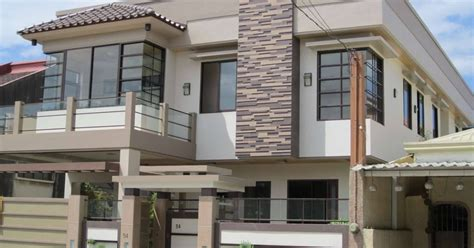 sample design  houses   philippines front design