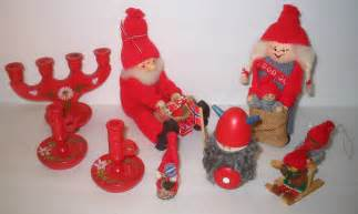 scandinavian swedish christmas decoration lot ebay