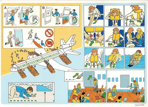 Collection Of Airline Safety Cards by Http Img Wonderhowto Img 79 14 63466113701768 0