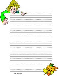Halloween Writing Paper Template Halloween Writing Paper Template Submited Images Pic2fly
