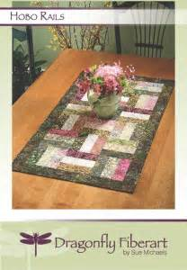 pattern quilted table runner hobo rails table runner e pattern craftsy