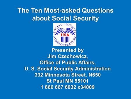Social Security Office Paul Mn state of delaware office of pensions ppt