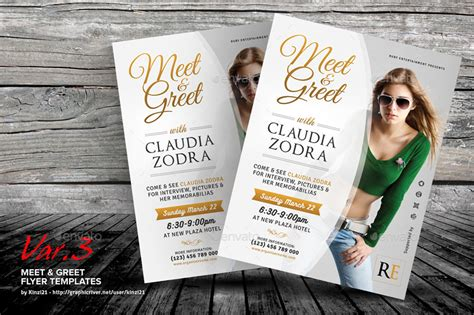 meet greet flyer templates by kinzi21 graphicriver