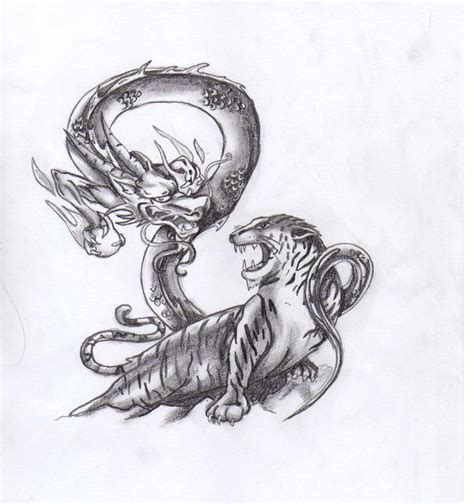 tattoo dragon tiger meaning 17 best images about tatuaggio andre on pinterest