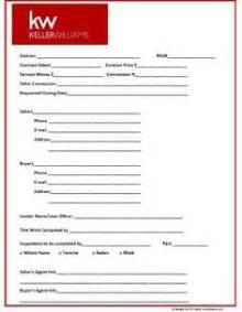 transaction sheet template real estate on real estates real estate